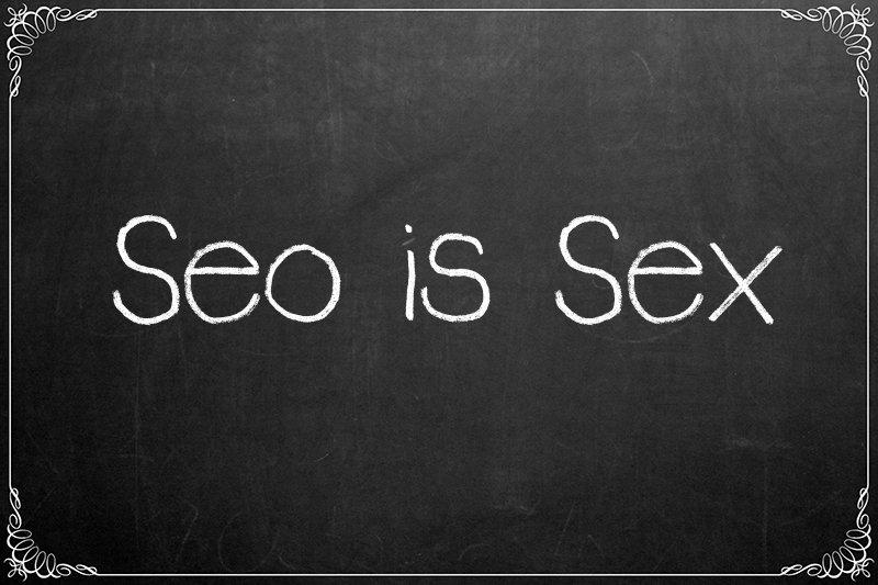 La seo è come il sesso