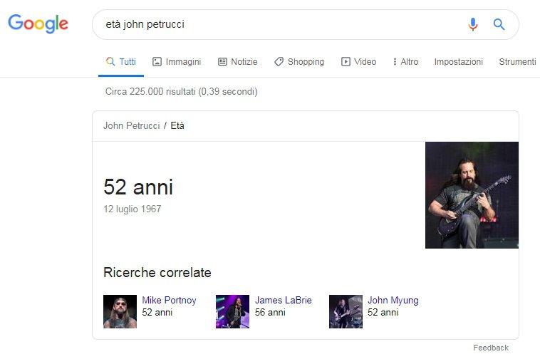 Google risultati zero