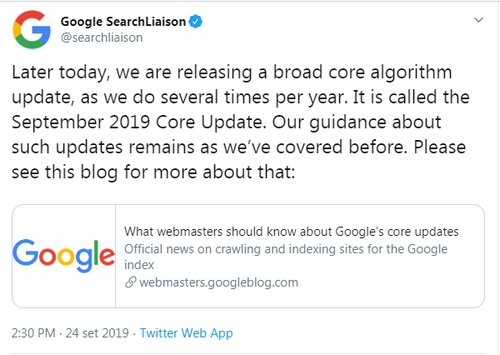 google-september-update